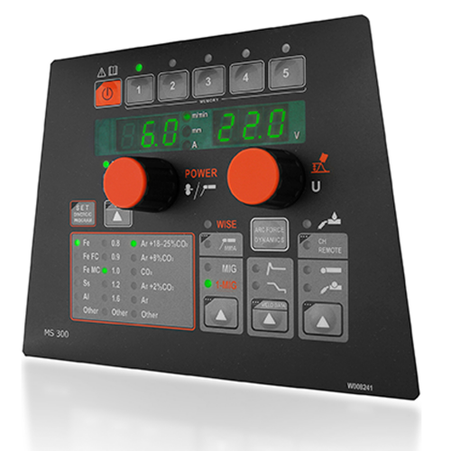 Kemppi FastMig MS 300 control panel product image